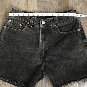 Levi's Shorts - Vintage Levi's 560 custom cut off jean shorts!!!